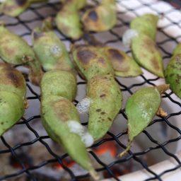 レシピ 「丹波黒枝豆の塩焼き」