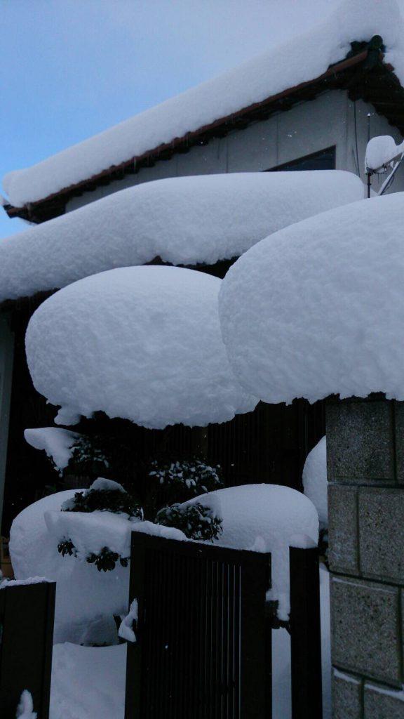 豪雪地帯で有名な兵庫県朝来市和田山。2017年1月に日本列島を襲った「最強寒波」直後の様子