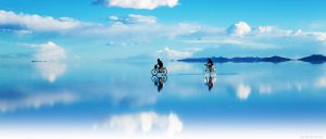 ウユニ塩湖。テスト画像です。